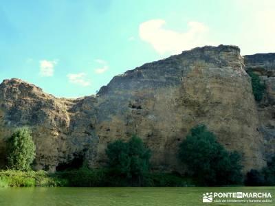 Piragüismo Hoces del Río Duratón;madrid excursiones de un día clubes de senderismo madrid excurs